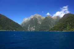 perfect weather, perfect landscape, perfect people. (Milford Sound/Neuseeland)