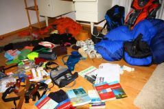 Packliste: Fernwanderwege  (Via Alpina)