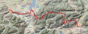 Via Alpina violett von Garmisch nach Pfronten